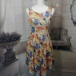 Bea & Pot by Modcloth Butterfly Dress NWOT